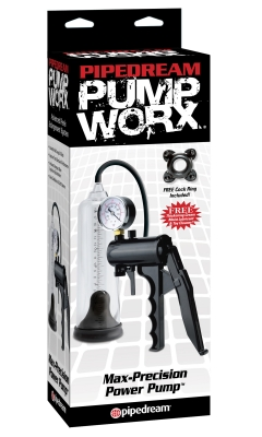 Pompa penis - Pump Worx Max-Precision Power