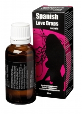 Picaturi afrodisiace -Spanish Love Drops Secrets 30 ml