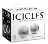 Bile gheise sticla - Icicles Medium Glass Ben-Wa Balls