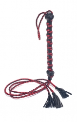 Bici piele THREE TAIL TASSEL FLOGGER POLISHED LEATHER 30″